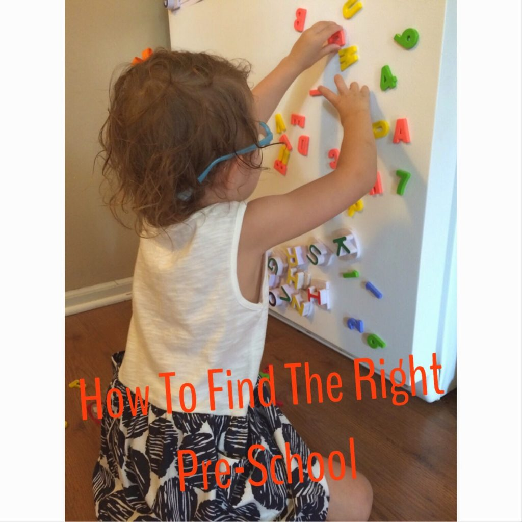 How To Find The Right Pre-School